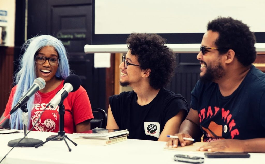 Image of panelist for the Anarchism and Black Struggle Panel.